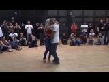 Кизомба. Танцуют Альбир и Сара Лопез